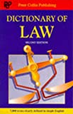 A Dictionary of Law, Peter Hodgson Collin, 0948549335