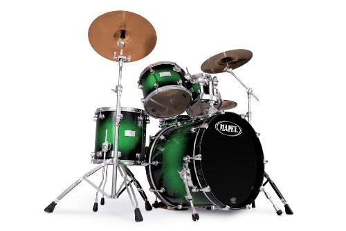 mapex-saturn-series-walnut-and-maple-standard-5-piece-drum-set-in-green-apple-burst-sparkle-burst-la