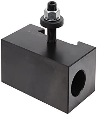 "Dorian Tool V5 Victory Thru Coolant Chromium Molybdenum Alloy Steel Quick Change Morse Taper Toolholder for V40TC Automatic Thru Coolant Tool Post, MT4, 2-31/64"" Height"