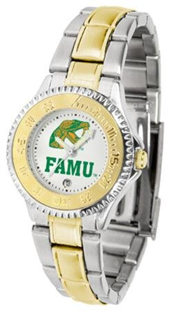 (Florida A&M Rattlers Competitor Two-Tone Women's Watch )