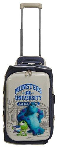 "Monster U Univercity Luggage 18"" Rolling Duffel Travel Bag"