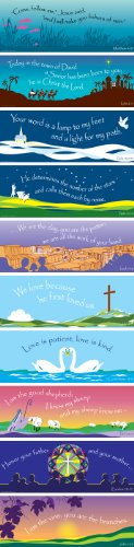 Poster Religious (Barker Creek Scripture Chart Set, 22