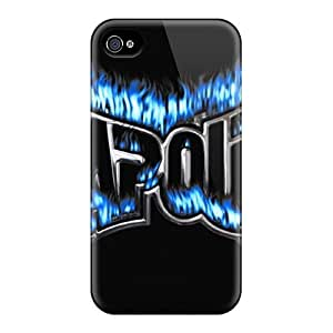 Iphone 4/4s Hard Back With Bumper Cases Covers Tapout