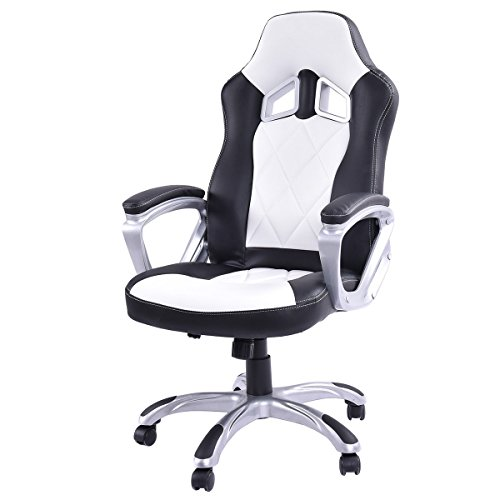 Giantex High Back Racing Style Bucket Seat Gaming Chair