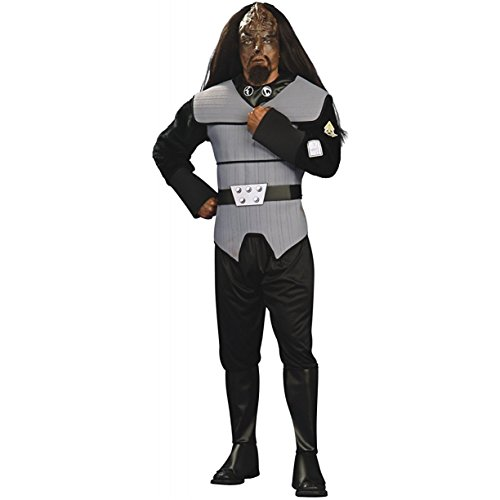 Deluxe Adult Klingon Star Trek Costumes (Star Trek - Star Trek Next Generation Klingon Male Deluxe Costume (Men's Adult Regular Size))