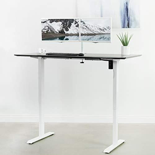 VIVO Electric Stand Up Desk Frame Workstation