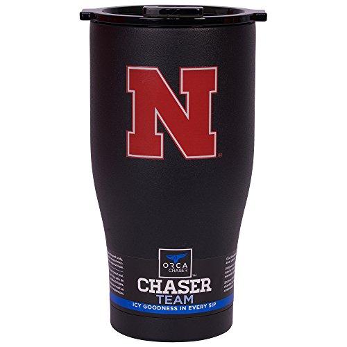 ORCA Chaser Logo University of Nebraska Cooler, Black, 27 oz