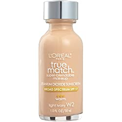 L'Oréal Paris True Match Super-Blendable Makeup, Light Ivory, 1 fl. oz.