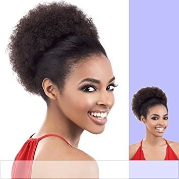 Tress Synthetic Wig - PD-AFRO5 (Motown Tress) - Synthetic Ponytail in BROWN