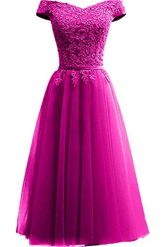 Topkleider rosa trapecio para mujer 46 Vestido wIrRqI