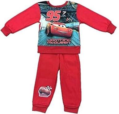 11b40e4ec Boys Disney Pixar Kids Cars Lightning McQueen Tracksuit Joging Outfit Set  Jumper (4, Red): Amazon.co.uk: Clothing