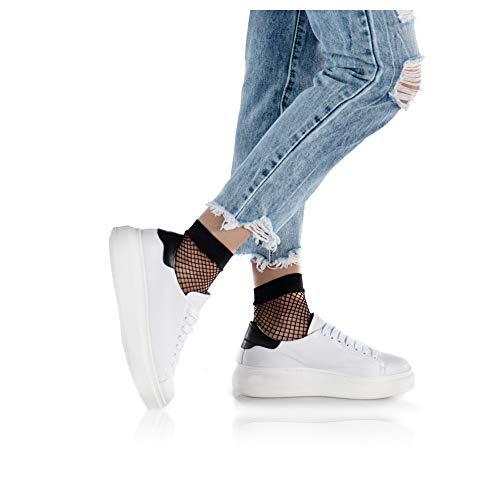 Bianco Tendenze Tendenze Calzature Sneaker Rachelle Calzature wUBXaxq