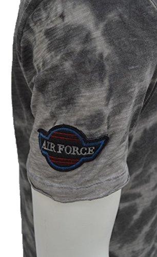 Brandneu !!! Designer T-Shirt von CARISMA in Grau/Beige Oil Dyed CRM4430