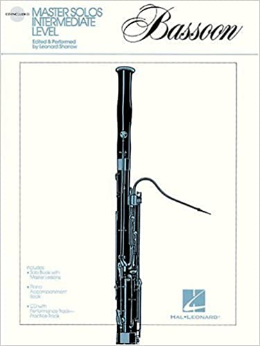 amazon master solos intermediate level bassoon linda rutherford