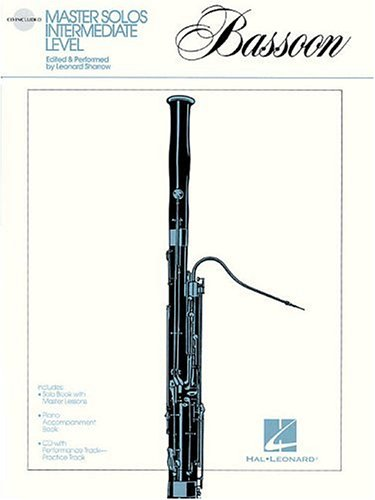 Master Solos Intermediate Level - Bassoon: Book/CD Pack