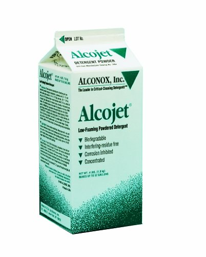 Alconox 1404 Alcojet Nonionic Low-Foaming Powdered Detergent, 4lbs -
