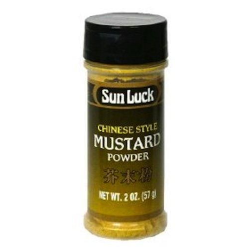 Sun Luck Mustard Powder, 2-Ounce (Pack of 6) by Sun Luck