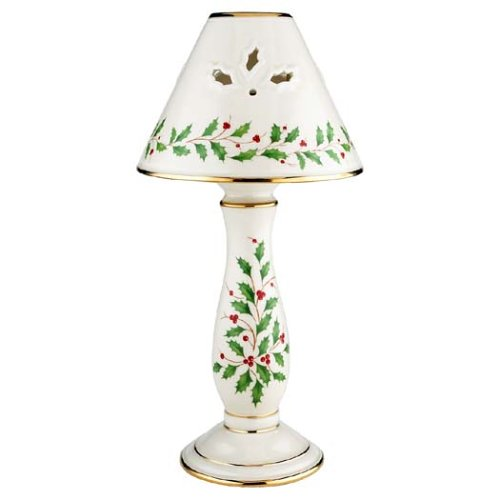 Lenox Holiday Candlestick Lamp