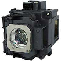 AuraBeam Professional Epson ELPLP76 Projector Replacement Lamp with Housing (Powered by Osram)