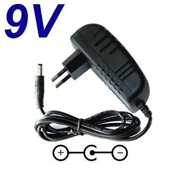 Cargador Corriente 9V Reemplazo Videoconsola Consola Sega Game Gear Recambio Replacement