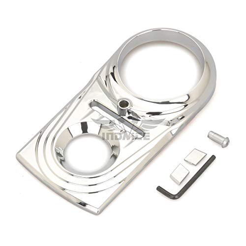 Dash Deluxe Panel - Softail Heritage chrome Dash Panel Insert Cover For Harley Softail Fatboy Dash Panel cover Dyna 93-15