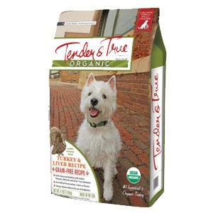 Image of TENDER & TRUE Organic Turkey and Liver Dry Dog Food 20lb, 1 Piece