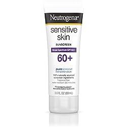 Neutrogena Sensitive Skin Sunscreen Lotion SPF 60+ 3 oz