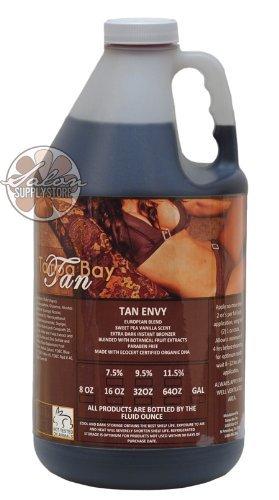 Tan Envy European Blend Light Skintype 7.5% DHA Sunless Airbrush Spray Tanning Solution 64oz