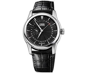852156a8ba [ORIS]オリス アートリエ スモールセコンド ポインターデイト メンズ 腕時計 744.7665.4054D[正規