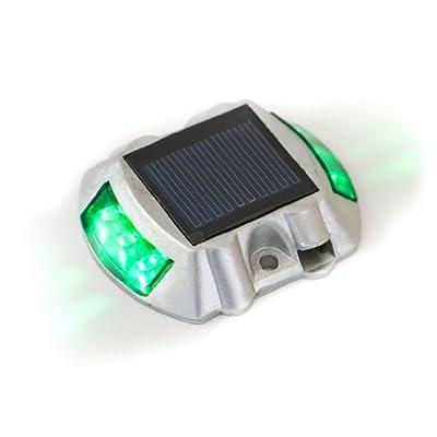 Reusable Revolution Solar LED Road Stud Pathway Marker Light