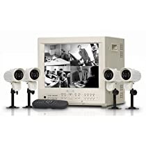 Lorex SG14S1042C-A 14 Black and White 4-Channel Observation System with 2 Cameras