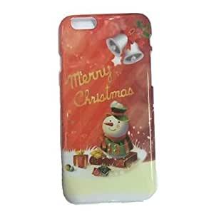 Zaki Specially Designed Christmas Pattern Plastic Cover for iPhone 6