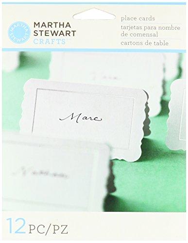 Martha Stewart Crafts Place Cards, Flourish