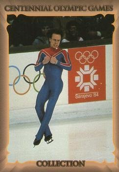 Scott Hamilton Trading Card (Figure Skating Champion) 1996 Collect-A-Card Centennial Olympic Games (Centennial Figures)