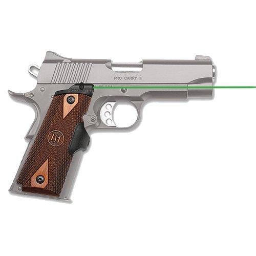 Crimson Trace Master Series Green Laser Sight for 1911 Full-Size Pistols, Cocobolo Diamond Finish LG-920G Master Series Green Laser Sight for 1911 Full-Size Pistols, Cocobolo Diamond Finish from Crimson Trace