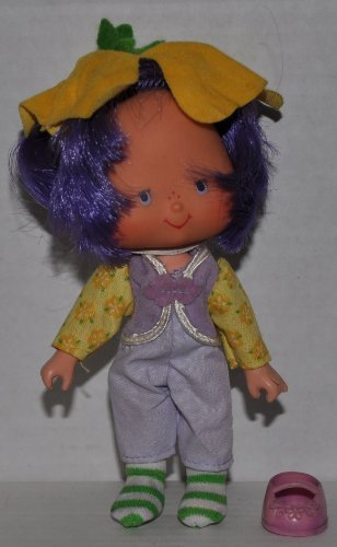 - Vintage Almond Tea (1979) (Doll, Hat, Outfit, Tights, & Shoe) - Strawberry Shortcake (Retired) Doll - Collectible Replacement Toy - Loose (OOP Out of Package & Print)