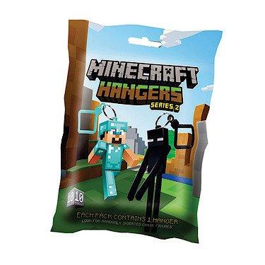Minecraft – Hanger Series 2 – Sachet Surprise – 1 Porte-Clés Mini-Figurine – Modèle Aléatoire MIHA0002