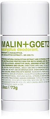 Malin + Goetz Deodorant, Eucalyptus, 2.6 Ounce
