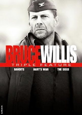 BRUCE WILLIS TRIPLE FEATURE (DVD/SAC/3PK/BANDITS/HARTS WAR/SIEGE) BRUCE WILLIS TRIPLE FEATURE (DVD/