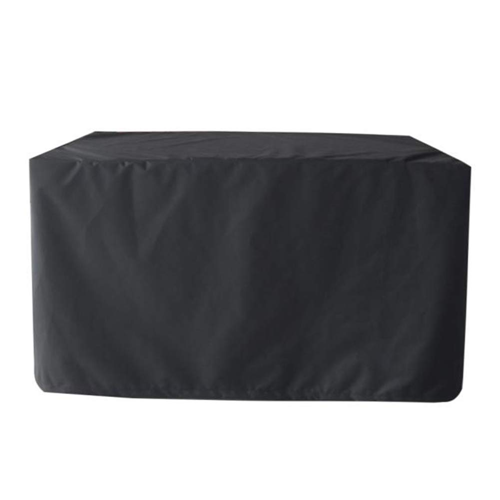 Black 135x135x75cm Nevy Garden Rattan Furniture Cover Table Furniture Wear Resistant Long Life Oxford Cloth 4 Size Patio Table Covers (color   Black, Size   135x135x75cm)