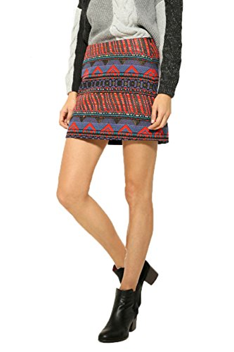 Desigual Women's Brocade Granada Mini Skirt