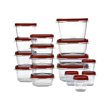 Rubbermaid Easy Find Lid 34-Piece Food Container Storage Set by Rubbermaid