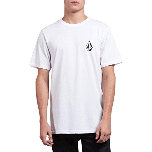 - Volcom Men's Deadly Stone Modern Fit Short Sleeve Tee White