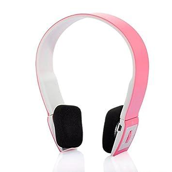 HHLUW Manos Libres Estéreo Casque Audio Auriculares Bluetooth Auriculares Inalámbricos Auriculares Inalámbricos para Computadora Pc Teléfono