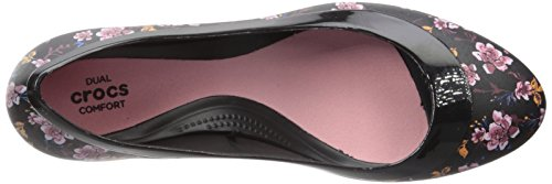 Pictures of Crocs Women's Lina Graphic W Wedge Pump Crocs Lina Graphic Wedge W 2