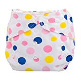 Koly® Newborn Baby Cloth Diaper Cover Adjustable Reusable Washable Nappy Non-Disposable Nappies (A)