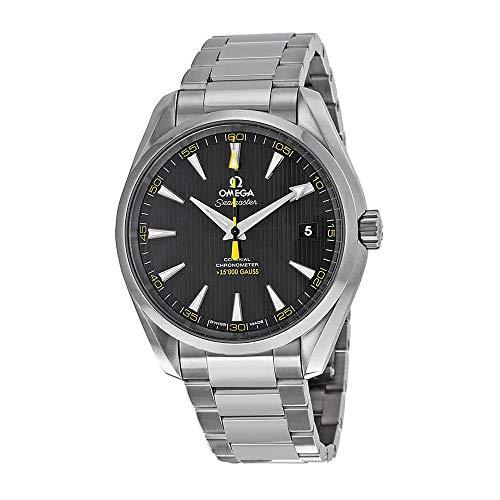 Omega Men's 23110422101002 Seamaster150 Analog Display Swiss Automatic Silver Watch ()