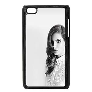 iPod Touch 4 Case Black Lana DelRey Black And White A4V8CQ