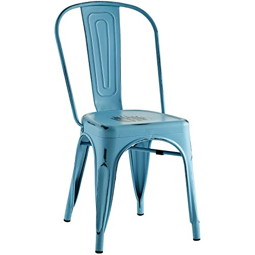 Modway Promenade Side Chair, Turquoise