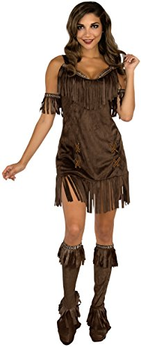 Pizazz Women's Free Spirited Native American Girl Dress Costume Large 12-14